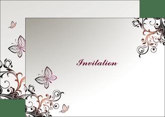 modele flyers carte d invitation pour