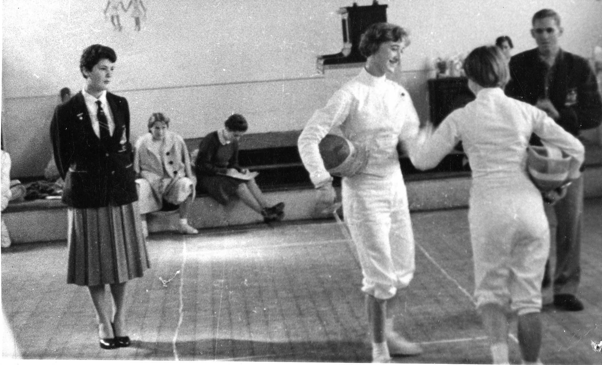 Joanna Winter vs. Jill Glanville, Judges Denise O'Brien (Left), Michael Sichel (Right)