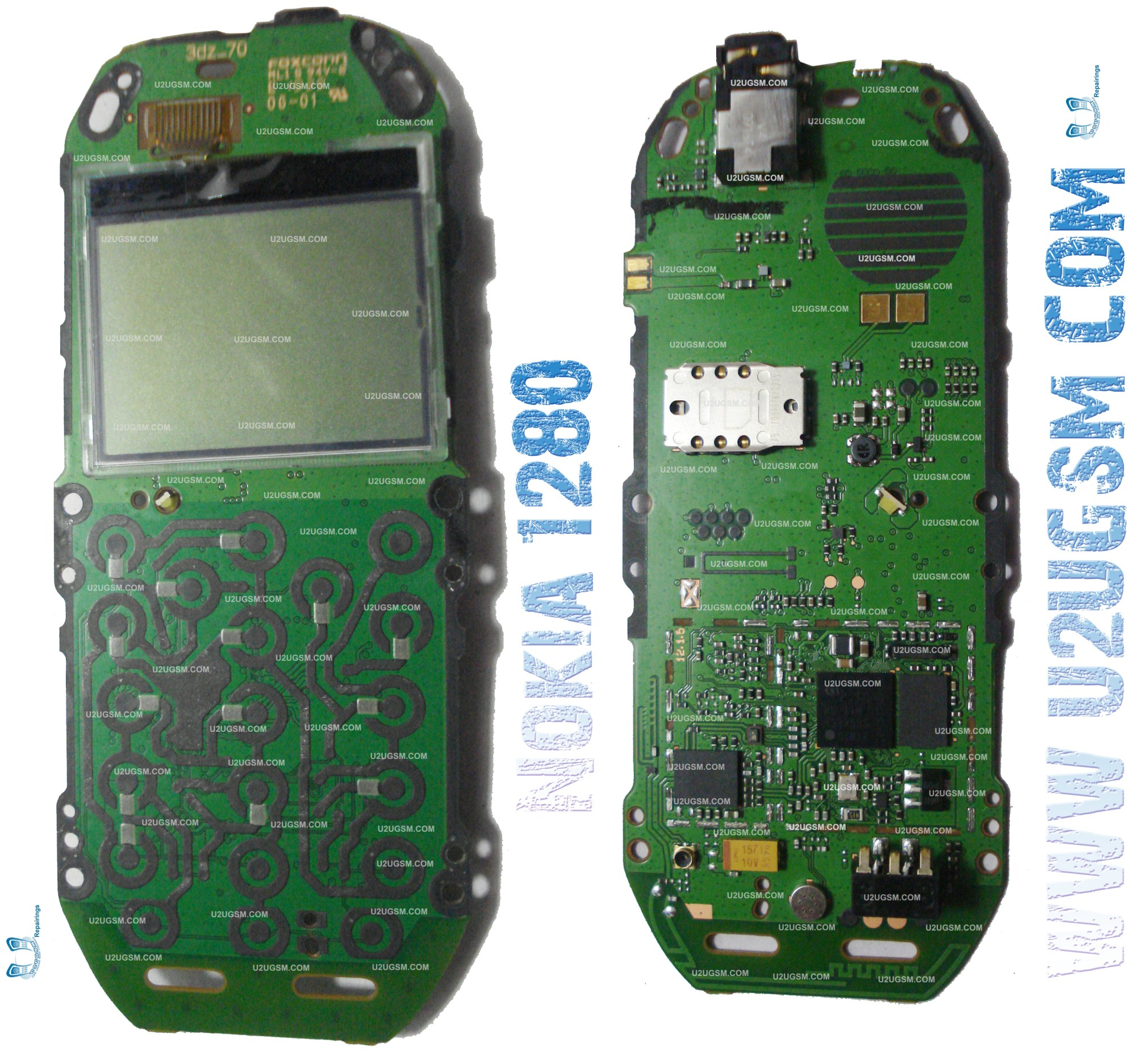 hight resolution of nokia 1280 if you find some new repairing techniques please must email me and i will post that diagram with your reference in this way we all make it