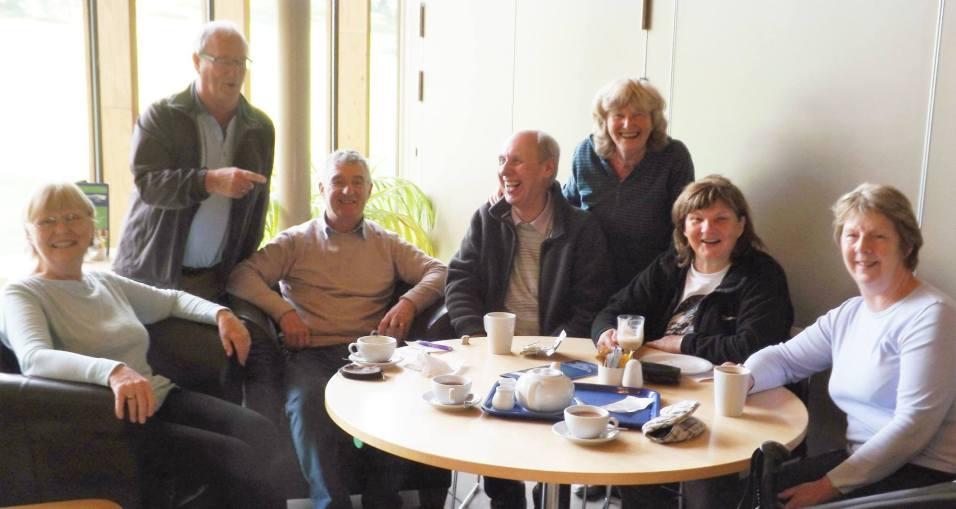 Coffee Break on the Guild Wheel Walk. Friday 25th September 2015