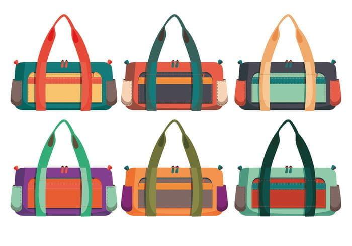 11+ best free sports bag mockup psd templates: Duffle Bag Vectors Eps Uidownload