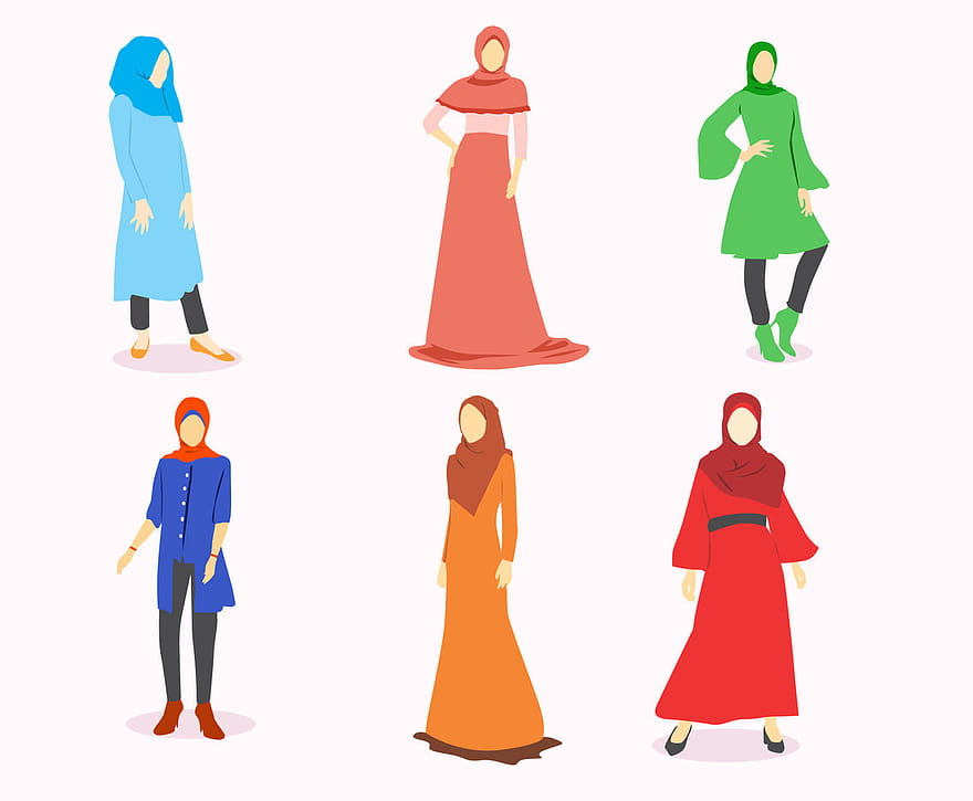 The perfect venue in fort myers for your event! Hijab Islamic Woman Popart Portrait Eps Vector Uidownload