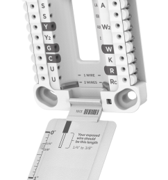 every t series thermostat employs this system this means that they have a common mounting plate and that replacing one t series thermostat with another is  [ 984 x 1555 Pixel ]