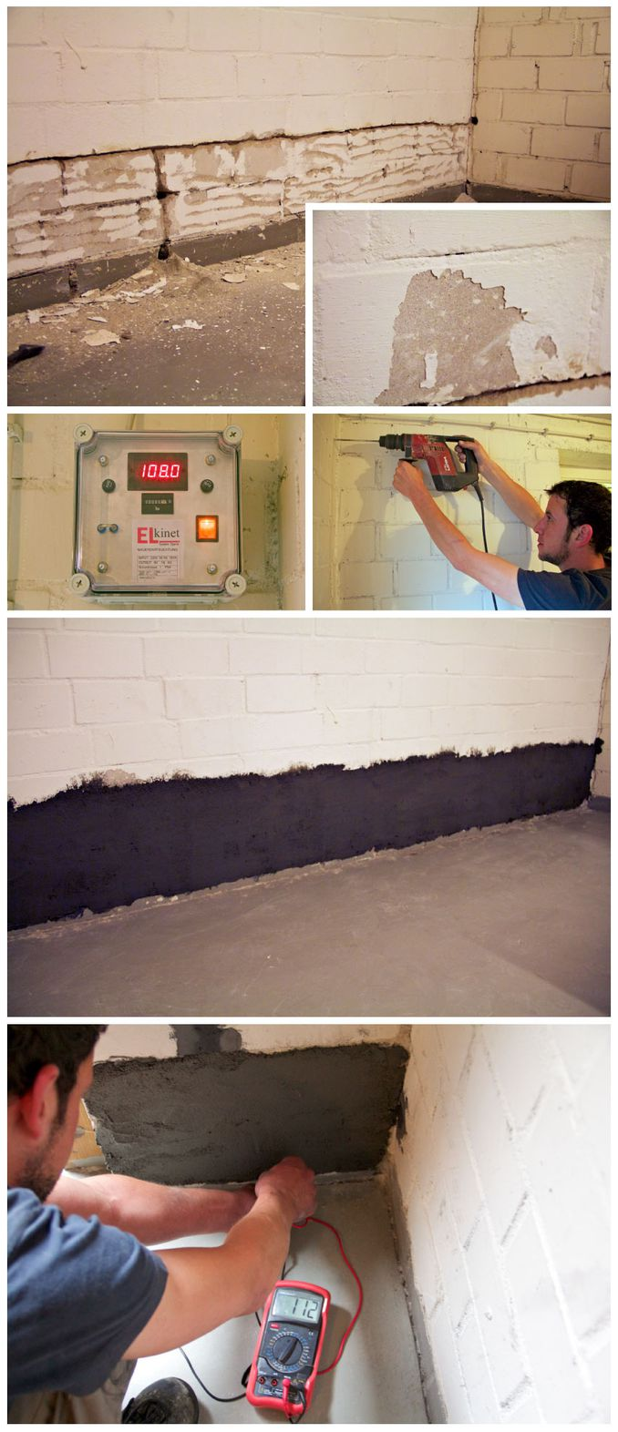 Mauertrocknung - Blatt Trocknungstechnik Mauertrockenlegung Mit