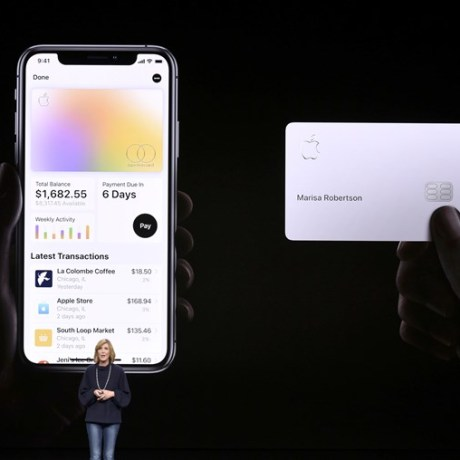 #Apple Card на базе Apple Pay