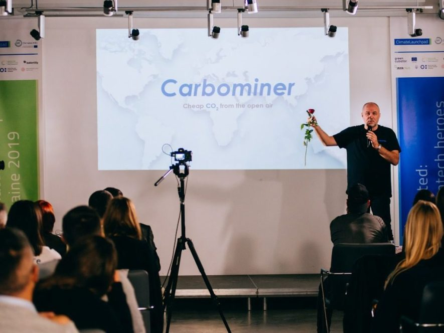 Николай Осейко - соучредитель Carbominer. Намерена добывать углекислый газ из воздуха и продавать промышленным тепличным комплексам