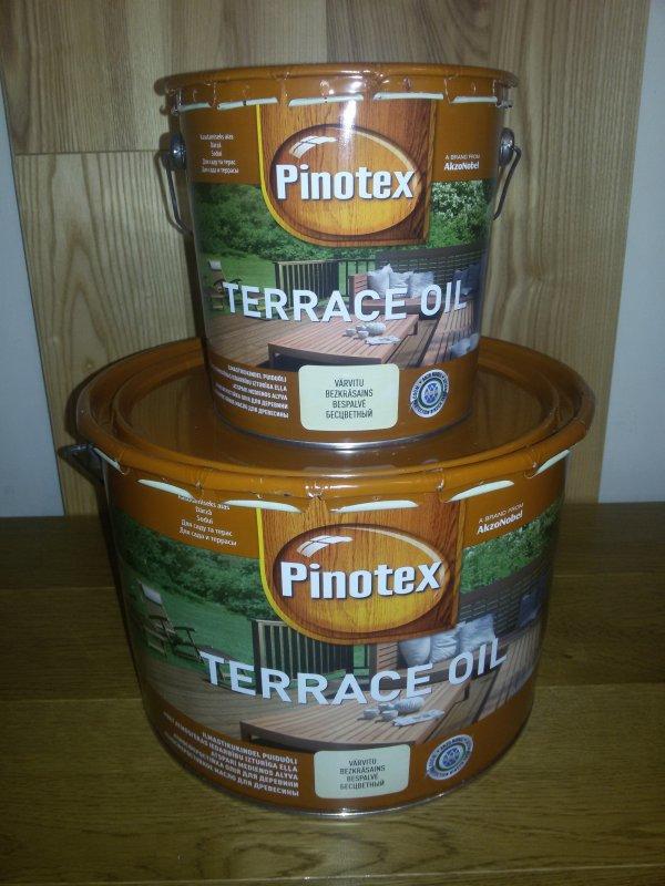Pinotex Wood Terrace Oil