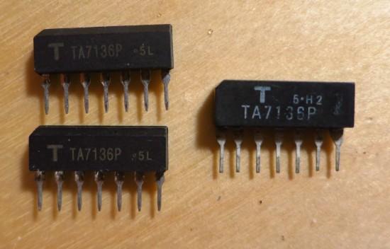 TA7136 vs fake