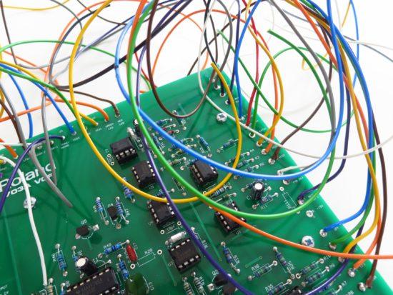 Roland 702A VCF wiring fun