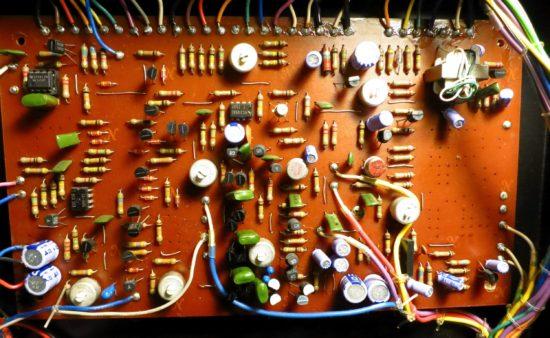 System 100 102 module VCF/VCA board