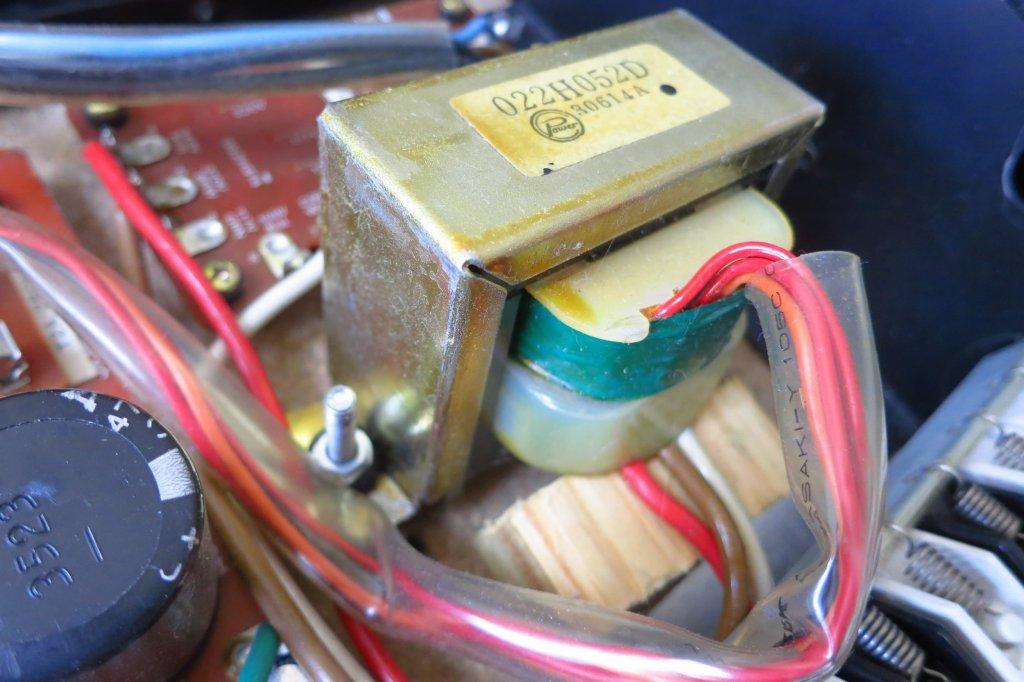Wonky JX3P transformer