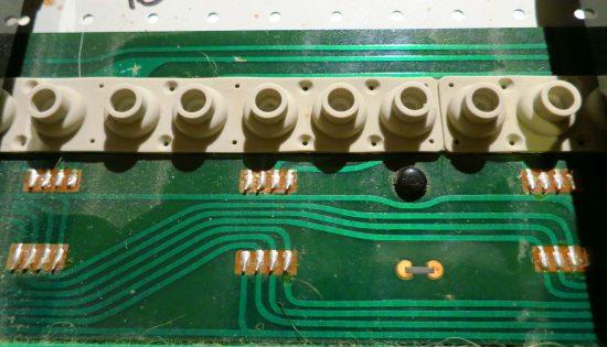 JX3P keyboard diodes
