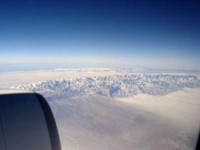 Azure Skies, somwhere over China.