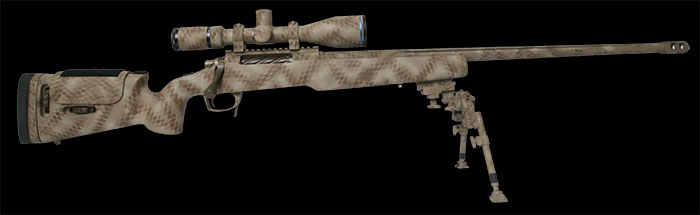 Ultimate Arms Warrior Lite Tactical Long Range Rifle