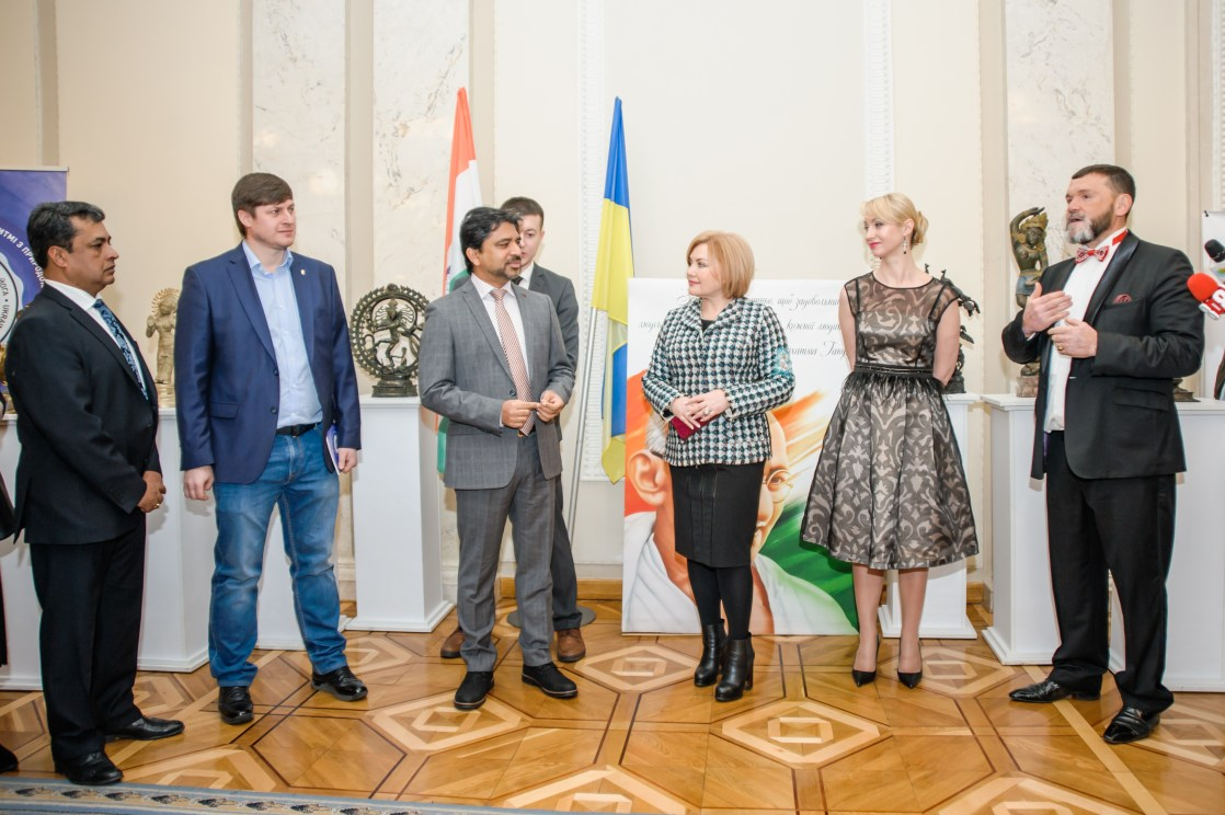 "At  the  Parliament House of Ukraine (Verkhovna Rada), Kyiv, Ukraine, a event was organized called  ""One Planet Earth"" Ukraine –  India."