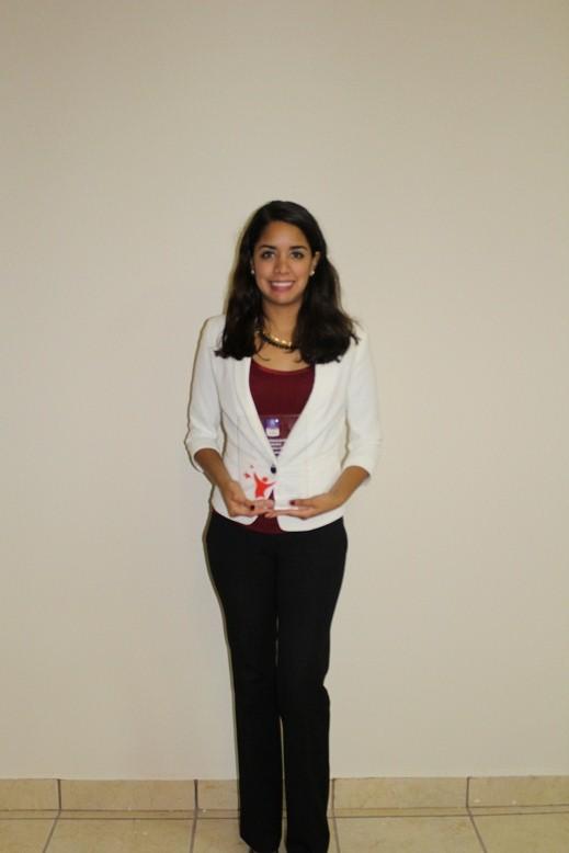 Cristi Manquero segundo lugar entre los alumnos después de quinto semestre