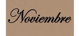 La historia en frases, Noviembre