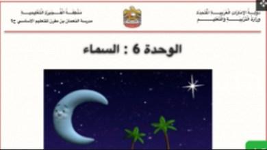 Photo of مذكرة_علوم_الوحدة_السادسة_للصّف
