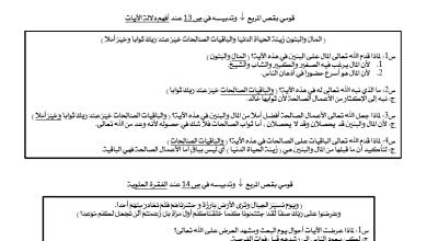 Photo of أسئلة درس الدنيا دار عمل التربية الاسلامية الصف العاشر الفصل الدراسي الثاني 2017-2018