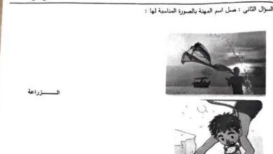 Photo of اوراق عمل اجتماعيات الصف الاول الفصل الثاني