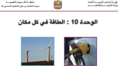 Photo of مراجعة علوم الصف الاول الفصل الثاني الوحدة العاشرة