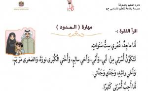 مراجعة عامة لمادة اللغة العربية للصف الأول الفصل الثالث