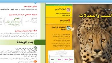 Photo of دليل المعلم رياضيات الوحدة الأولى صف سادس فصل أول