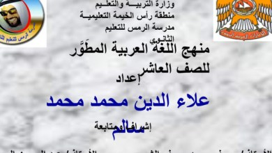 Photo of حلول كتاب مادة اللغة العربية للصف العاشر فصل أول وفصل ثاني كاملة