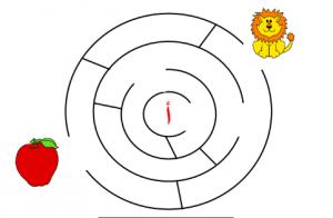 كتيب متاهات (حروف الهجاء) للصف الأول