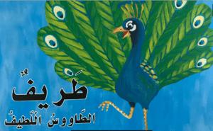 قصة حرف الطاء طريف الطاووس اللطيف لغة عربية صف أول فصل ثاني