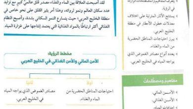 Photo of صف حادي عشر فصل ثاني دراسات اجتماعية حلول الوحدة الأولى