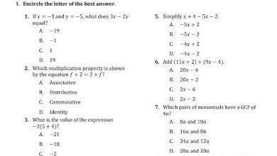 Photo of أوراق عمل رياضيات منهج إنجليزي صف سابع فصل ثاني