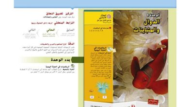 Photo of دليل المعلم رياضيات الوحدة الثامنة الدوال والمتباينات صف سادس فصل ثاني