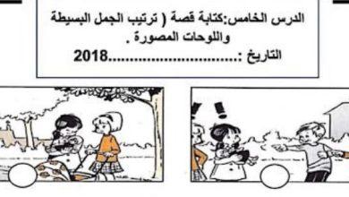 Photo of التدريب على امتحان الكتابه ترتيب الصور لغة عربية صف ثاني فصل ثاني