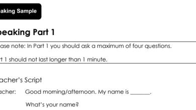 Photo of نموذج امتحان التحدث الفصل الثاني 2018 لغة إنجليزية صف ثالث فصل ثاني