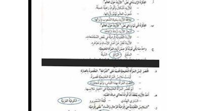 Photo of صف رابع فصل ثاني حلول لغة عربية درس أزياء حول العالم