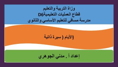 Photo of حل درس الأيام مع التسجيل الصوتي لغة عربية صف عاشر فصل ثاني