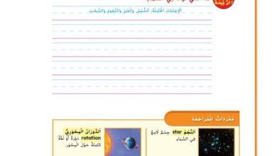 Photo of صف أول فصل ثاني دليل العلوم  الوحدة العاشرة السماء