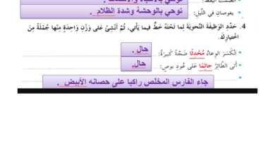 Photo of حل درس غولة النهر لغة عربية الصف الثامن الفصل الثاني