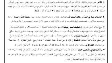 صورة استجابة إلى أمي لغة عربية :