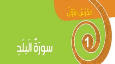 Photo of حل درس سورة البلد تربية إسلامية صف ثالث فصل ثالث