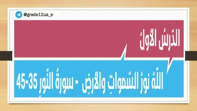 Photo of صف ثاني عشر فصل ثالث حلول جميع دروس التربية الإسلامية