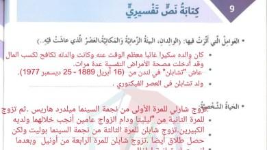 Photo of حل درس كتابة نص تفسيري لغة عربية الصف السادس الفصل الثالث