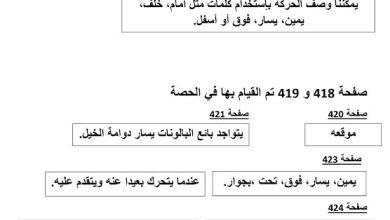 Photo of إجابات الوحدة 14 علوم صف أول فصل ثالث