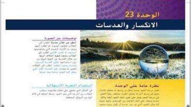 Photo of دليل المعلم فيزياء وحدة الانكسار والعدسات صف عاشر فصل ثالث
