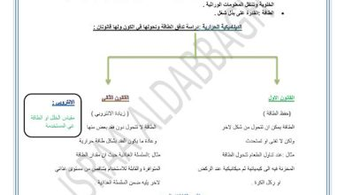 Photo of ملخص وحدة الطاقة الخلوية أحياء صف حادي عشر متقدم فصل ثالث