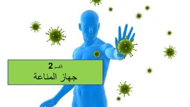 Photo of ملخص جهاز المناعة أحياء صف ثاني عشر متقدم فصل ثالث