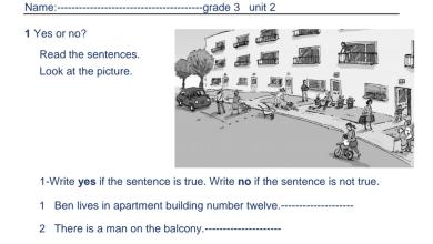 Photo of مراجعة عامة للوحدة الثانية لغة إنجليزية صف ثالث فصل ثاني