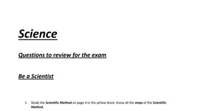 Photo of أوراق مراجعة علوم منهج إنجليزي صف ثالث فصل أول