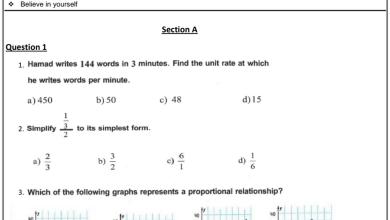 Photo of سابع رياضيات منهج امتحان تجريبي